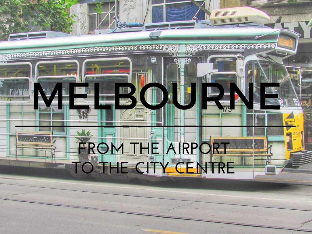 how to travel from melbourne airport to city