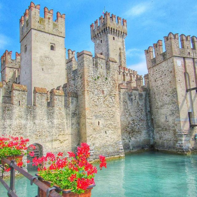 This wonder is the Scaliger Castle in Sirmione just onhellip