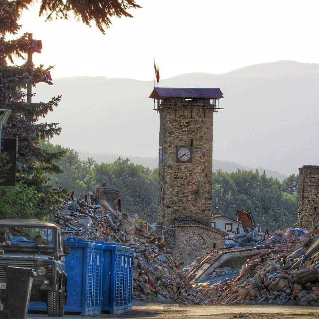 Amatrice Italy Almost a year after the earthquake You canhellip