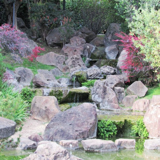 Japanese garden in Rome A zen spot in the cityhellip