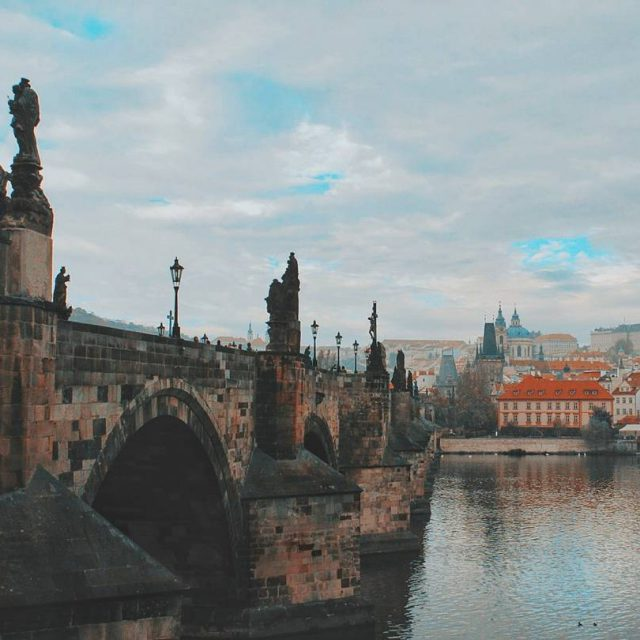 Charles Bridge in Prague was the only bridge on thehellip